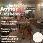 Author luncheon at Indulge