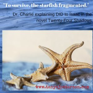 -To survive, the starfish fragmented.-