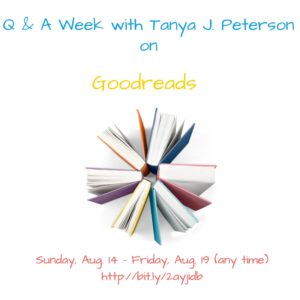 Q&A Week with TJP on Goodreads