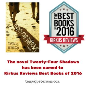 Twenty-Four Shadows is a novel about DID and was named to Kirkus Reviews Best Books of 2016
