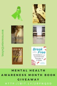 Enter a giveaway to win a book for Mental Health Awareness Month