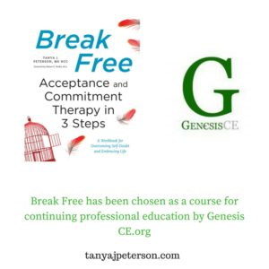 With Break Free, learn to use acceptance and commitment therapy in your everyday lilfe to enhance wellbeing and create your quality life.