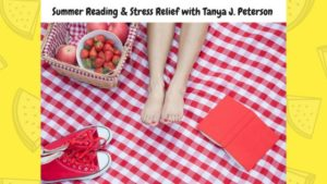 Summer Reading and Stress Relief is the topic of the July Wellbeing & Words Radio Show